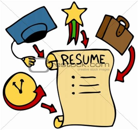 Example of curriculum vitae for applying job